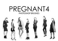 Pregnant Photoshop Brushes 4