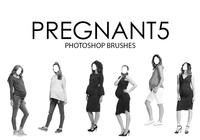Pregnant Photoshop Brushes 5