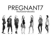 Pregnant Photoshop Brushes 7