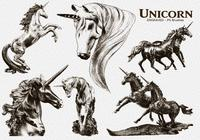 20 Unicorn Engraved PS Brushes abr. Vol.10