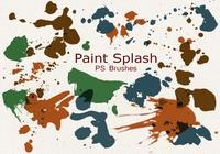 20 paint splash ps brushes.abr vol.1