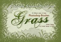 20 herbe silhouette ps brushes.abr vol.9