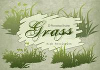 20 Grass Silhouette PS Brushes.abr vol.7