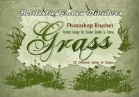 20 Grassilhouet PS Brushes.abr vol.10