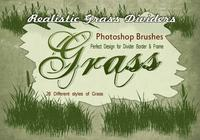 20 Grass Silhouette PS Brushes.abr vol.11