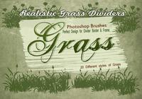 20 Grass Silhouette PS Brushes.abr vol.12