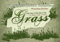 20 Grass Silhouette PS Brushes.abr vol.13