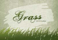 20 Grass Silhouette PS Brushes.abr vol.3
