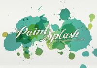 20 Paint Splash PS Brushes.abr vol.3