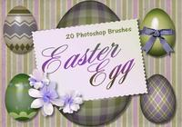 20 Easter Egg PS Brushes abr. vol.1