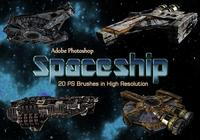 20 Spaceship PS Brushes abr. vol.9