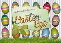 20 Easter Egg PS Brushes abr. vol.4