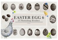 Easter Egg Brushes 6