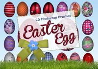 20 Easter Egg PS Brushes abr. vol.8