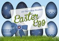 20 Easter Egg PS Brushes abr. vol.6