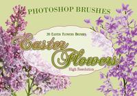 20 Easter Flowers PS Brushes abr. vol.4