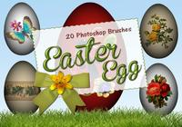 20 Huevos de Pascua PS Brushes abr. vol.7