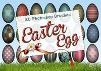 20 Easter Egg PS Brushes abr. vol.9