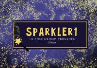 Star Sparkler Photoshop-penselen 1