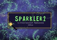 Estrela Sparkler Photoshop Brushes 2
