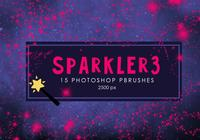 Estrela Sparkler Photoshop Brushes 3