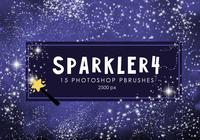 Estrela Sparkler Photoshop Brushes 4