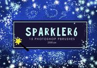 Estrela Sparkler Photoshop Brushes 6