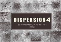 Dispersion Photoshop Brushes 4