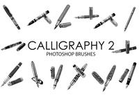 Calligraphy Tools Photoshop Brushes 2