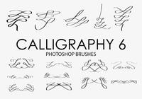 Calligraphy Photoshop Brushes 6