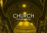 Church Photoshop Brushes