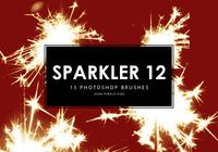 Sparkler Photoshop Brushes 12