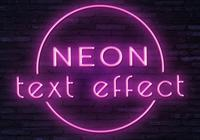 Neon text effect1