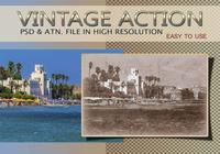 Effet photo vintage PSD & Action atn. Vol.8