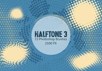Halftone Photoshop Brushes 3