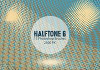 Halftone Photoshop Brushes 6