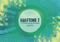 Halftone Photoshop Brushes 7