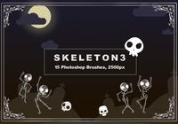 Pinceles de Photoshop Skeleton 3