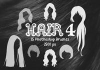 Pinceaux Photoshop pour cheveux 4