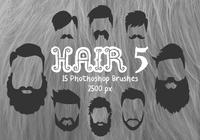 Haare Photoshop Pinsel 5