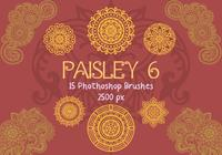 Paisley Photoshop Brushes 6