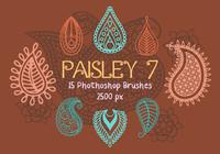 Paisley Photoshop Brushes 7