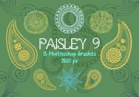 Paisley Photoshop Brushes 9