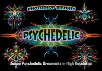20 Psychedelic Ornament PS Brushes abr. vol.1