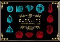 Royalty Photoshop Brushes 6