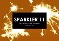 Sparkler Photoshop Brushes 11