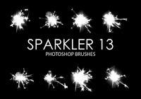 Sparkler Photoshop Brushes 13