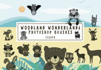 Woodland Wonderland Pinceles para Photoshop6