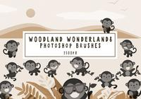 Escovas de Photoshop Woodland Wonderland8