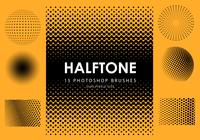 Halftone Photoshop Brushes